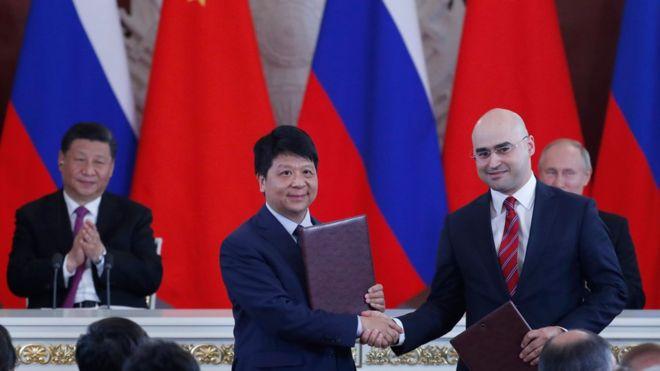 huawei menandatangani kesepakatan