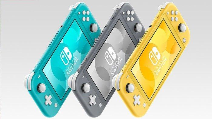 nintendo merilis switch lite