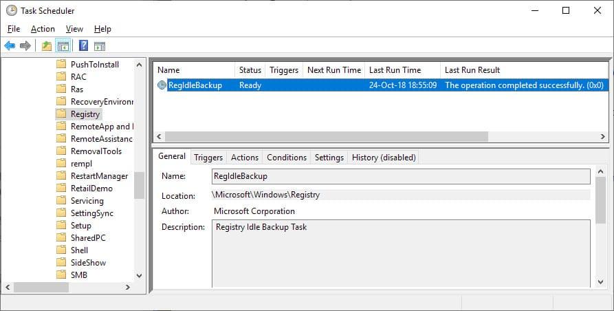 registry system windows 10