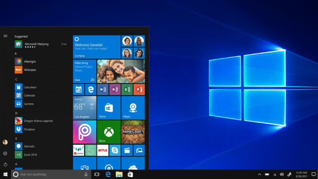 s mode di windows 10