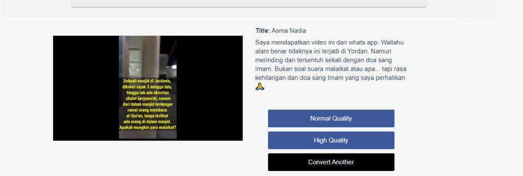4 Cara menyimpan Video Facebook ke Galeri Android