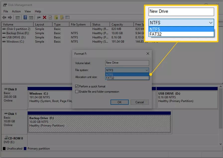Cara Format Flashdisk di  Windows 10, 8, 7, Vista, dan XP