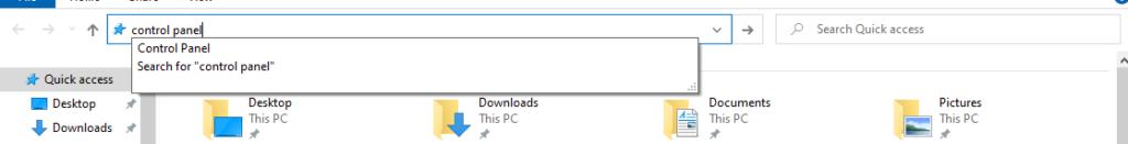 Cara Membuka Control Panel di Windows 10