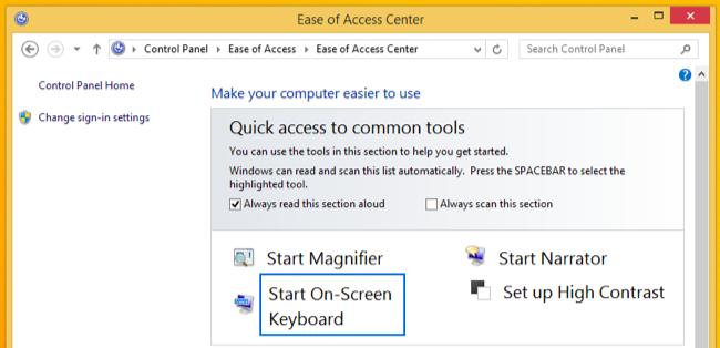Cara Membuka On Screen Keyboard di Windows 7, 8, dan 10