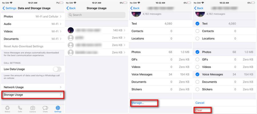 Cara Menghapus Cache Whatsapp di Android dan Iphone