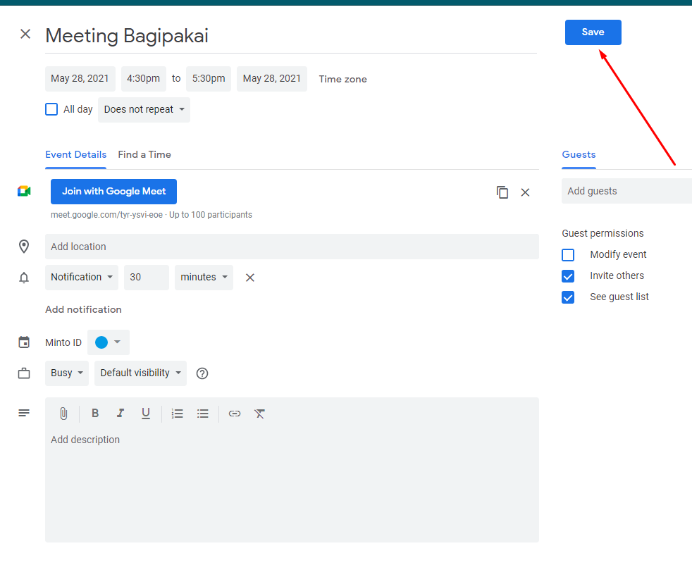 Cara Mudah Membuat meeting di Google Meet