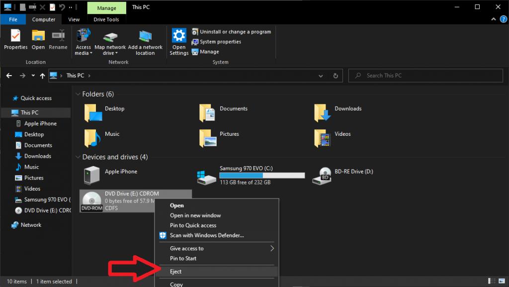 Cara membuka FIle ISO di Windows 10