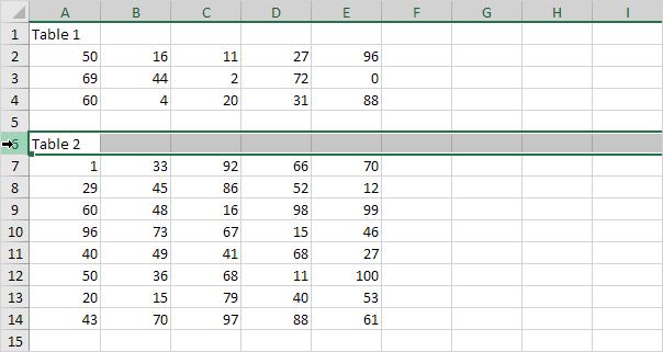 Cara Membuat Page Break di Excel