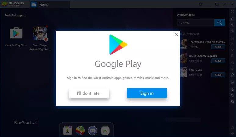Cara download dan Install Google Playstore di Laptop