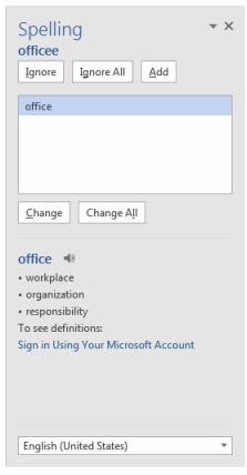 Cara Cek typo di Microsoft Word