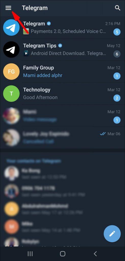 Cara Menambah Teman di Telegram